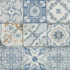 Shop for Blue Memory Porcelain Wall and Floor Tile - 24 x 24 in. at The Tile Shop. Ceramic Floor Tiles, Wall And Floor Tiles, Porcelain Tile, Mosaic Tiles, Splashback Tiles, Tile Art, Kitchen Backsplash, Countertop, Bathroom Remodel Cost