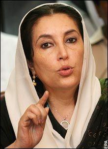 Pakistani officials talk of Benazir Bhutto 'plot' - Telegraph