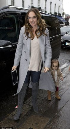 Tamara Ecclestone enjoys lunch with husband Jay and daughter Sophia - Celebrity Fashion Trends