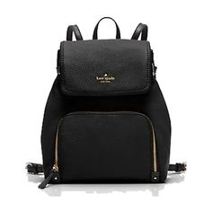 SandsPointShop.com Kate Spade Cobble Hill Charley Backpack ($348) ❤ liked on Polyvore featuring bags, backpacks, multicolor, multi colored backpacks, draw string bag, backpack bags, daypack bag and draw string backpack
