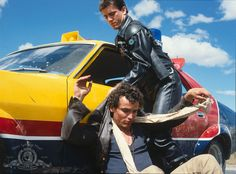 Mel Gibson and Tim Burns in Mad Max (1979)