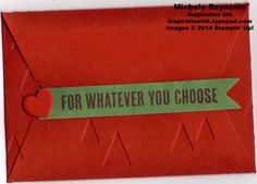 B.Y.O.P. Christmas Tree Gift Card Holder Back by Michelerey - Cards and Paper Crafts at Splitcoaststampers
