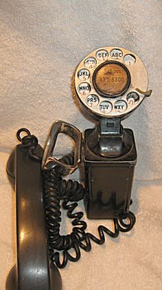 Vintage 6 line business wall phone Bell System. Click on the image for more information.