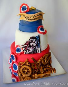 Les Miserables Cast Party Cake - Cake by Jennifer's Edible Creations