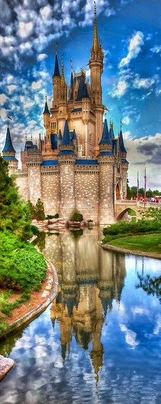 ★❤Cinderella's Castle at Magic Kingdom Orlando, Florida★❤❤ 。◕‿◕。 ♡