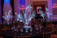 LED Winter Trees