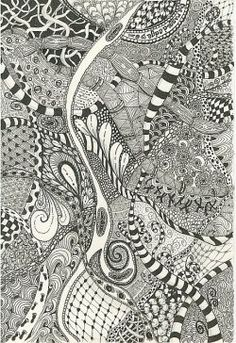 Since my first Zentangle page has become fairly popular despite being a bit unwieldy, it occurred to me that many visitors were possibly looking...