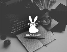 Write Rabbit Logo Design