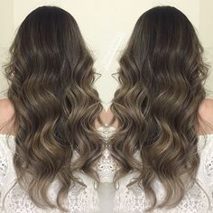 Soooo long and thick! But how GORG does this look😍💁🏼 creating ash tones on dark asian hair can but such a challenge but I'm up for it! Pelo Bronde, Dark Roots, Asian Hair, Mermaid Hair, Dark Hair, Hair Inspo, Ash, Hair Beauty, Long Hair Styles