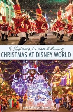 Disney World at Christmas time is even more magical than you can imagine! Make sure you enjoy everything the holidays have to offer at Disney. Disney Vacation Planning, Disney World Planning, Walt Disney World Vacations, Disney World Resorts, Vacation Ideas, Disney Travel, Family Vacations, Disney World Tips And Tricks, Disney Tips