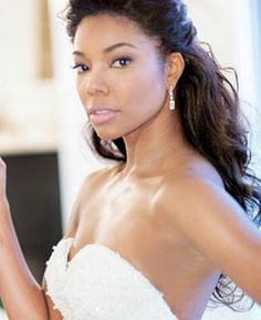 5 Celebrity Wedding Hairstyles For Black Women