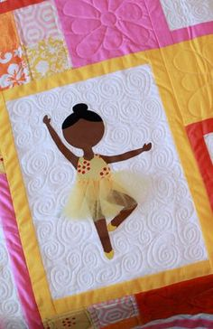 Embroidery Quilt Patterns Free Ballerina Quilt Pattern