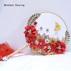 Find More Wedding Bouquets Information about Chinese Red Artificial Flowers Wedding Bouquets 2018 New with Leaves Bridal Bouquets Fan Wedding Accessories bouquet de mariage,High Quality Wedding Bouquets from modest saying Lacebridal Store on Aliexpress.com Cheap Wedding Bouquets, Flower Bouquet Wedding, Bridal Bouquets, Hand Fans For Wedding, Balloon Decorations, Artificial Flowers, Wedding Accessories, Wedding Events, Marie