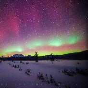 Aurora Borealis In Oregon