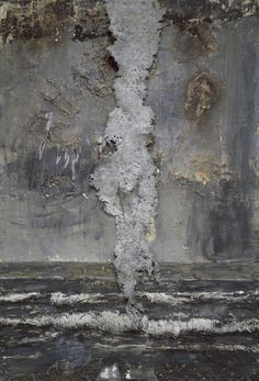 anselm kiefer - emanation oil, acrylic, wallpaper paste, lead on canvas (walker art center, minneapolis) Anselm Kiefer, Modern Art, Contemporary Art, Paperclay, Painting & Drawing, Abstract Art, Abstract Landscape, Sculptures, Fine Art