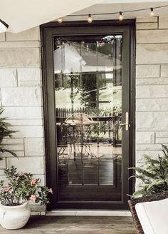 Best Storm Doors, Glass Storm Doors, Glass Front Door, Glass Door, Larson Storm Doors, Welcome To My House, Outdoor Doors, Back Doors, Entry Doors