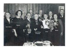 The presentation at the 1948 party for Tom and Ethel's 1948 visit . named
