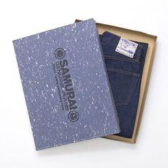 SAMURAI JEANS patch | Samurai Jeans – S5000AI 24 oz. Natural Indigo Raw Denim
