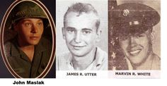"""Vietnam Veterans Memorial Fund Today we highlight three veterans. We honor John Maslak of Kansas City, Kansas, who fell in 1969. Today would have been his birthday. We also honor Marvin White, who fell on this day in 1967, and James Utter who fell earlier this month in the same year. They were from Rochester, Indiana. John is remembered by his daughter, whom he never got to meet:   """"I was only 3.5 months old when my dad was killed. I have read letters to my mom, and he loved her and me both…"""