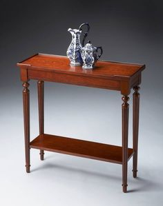 Butler- Wood Accent Table Console Table at Cheapchicdecor.com