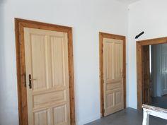 new doors – how to turn old – Door Types Entry Design, Doors, Wooden Doors, Types Of Doors, Wooden Doors Interior, House, Door Design, Old Door, Home Projects