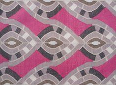 Raja rug in Pink designed by Zak Profera for Decorative Carpets Inc.