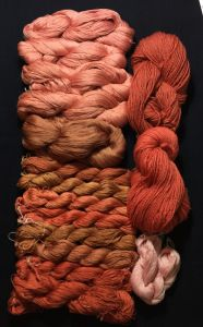More madder beauty from Deb McClintock;s solar dyeing