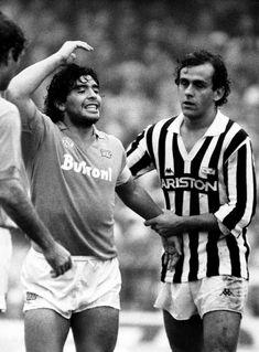 Michel Platini, Best Football Players, Football Cards, Argentina Football, Diego Armando, Everton Fc, My Dream Team, Sport Icon, Juventus Fc