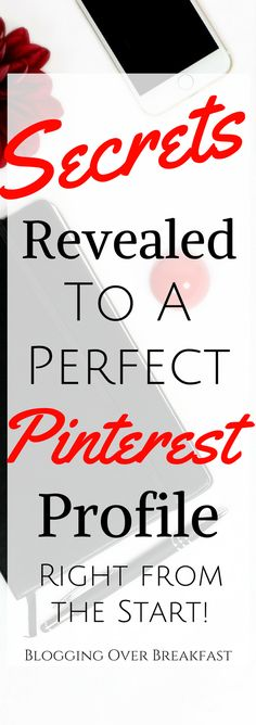 If you want your PInterest account to start off of the right foot, you have to use this guide to set up your account!  Using Pinterest for your blog is so important! You don't want to miss any of this!  #blog #blogging #blogger #bloggingtips #socialmedia #socialmediamarketing #pinterestmarketing #pinterestforbloggers #makemoneyonline #blogggingoverbreakfast