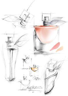dessin fleur_parfum_Florence Rosello