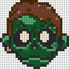 Zomboy Perler Perler Bead Pattern / Bead Sprite