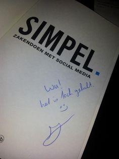 Jason Wu @Emperorwu    Boekje binnen met een persoonlijk bericht van @jwalphenaar thanks!