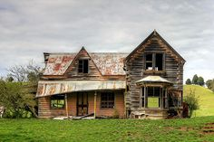 Old house, Wai-iti, Nelson, New Zealand by brian nz, via Flickr