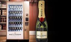 Selfridges install world's first champagne dispenser