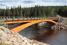 Wood bridge Montmorency - Glued laminated timber - Wikipedia, the free encyclopedia