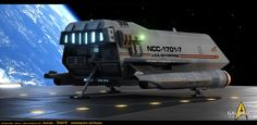 This is a re-design I made some time ago ( back in 2009) and I'm in the mesh re-working these days. It's my version of Star Trek  Galileo 7 . I did new nacelles and other details here and there, as well a new texture maps...Made in 3D MAX ...