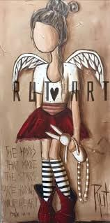 Image result for rut art Pallet Painting, Stone Painting, List Of Paintings, Angel Paintings, Angel Artwork, Angel Drawing, Angel Pictures, Heart Art, Word Art