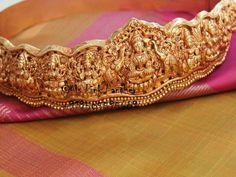 traditional temple jewellery belt Asta lakshmi vadanam