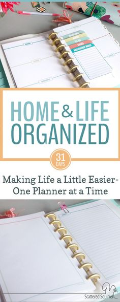 Planner printables and Home Management Printables a plenty in this series, as well as tips for how using multiple planners can help keep your home and life organized.