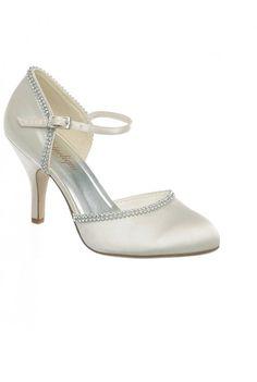 fc5dee5710f Chaussure semi-ouverte strass pour Mariée à talon  Amazon.fr  Chaussures et  Sacs