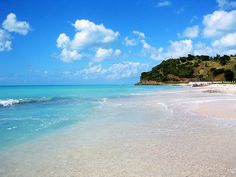 It is hard to go past Antigua if you want clear blue waters and white sands... it's pretty much all the place has to offer.