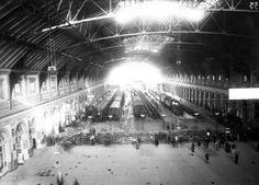 Interno vecchia Stazione Termini anni '30
