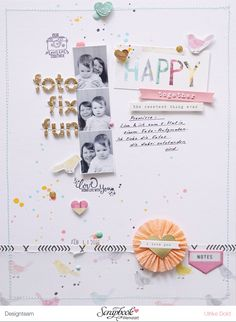 "Layout ""Foto Fix Fun"" - Maggie Holmes / Crate Paper *Bloom* - von Ulrike Dold"