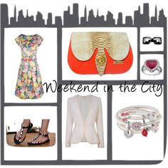 Weekend in the City! by eldiariodecandy on Polyvore  My suggestions #Lob #Swarovski #H #Marrakesh #LashesofLondon #ChicNova