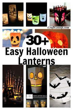 Halloween Eyeballs, Easy Halloween, Halloween Crafts, Halloween Stuff, Halloween Lanterns, Diy Halloween Decorations, Halloween Activities For Kids, Diy Crafts For Kids, Porch Lanterns