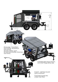 Survival camping tips Work Trailer, Off Road Camper Trailer, Trailer Plans, Trailer Build, Utility Trailer, Camper Trailers, Expedition Trailer, Overland Trailer, Off Road Camping