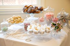 Breakfast at Tiffany's Bridal Shower sweets