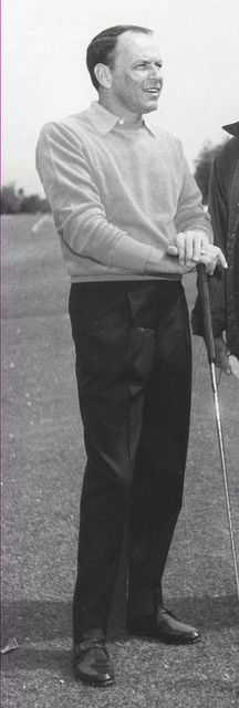 Frank Sinatra Golfing in Palm Springs, CA