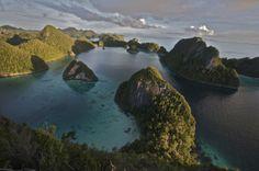 Amazonas submarino. Ampat. Indonesia