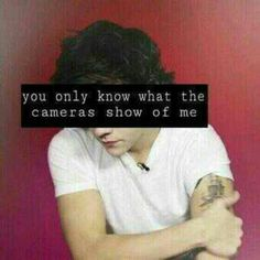 I could rant on and on about how the media only knows Harry as a womanizer. It just makes me incredibly angry. He's caring, genuine, sweet, funny. Show that side of Harry. That's his true self. He is just real. He hates being called famous. He hates it because you lose substance. You lose good qualities. He wants everyone to see him for who he really is. He's gonna make mistakes. Of course he is. He's still just growing up. If I meet him, I will tell him over and over again how beautiful he…